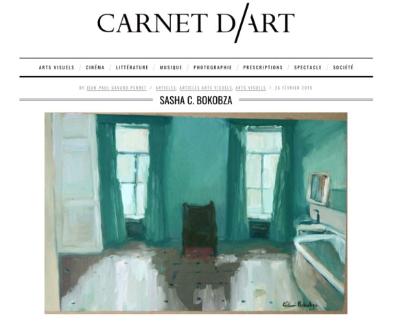 """""""L'essence du Monde"""" par Jean-Paul Gavard-Perret dans Carnet d'Art"""